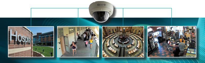 IQeye Alliance-mx H264 dóm kamera alkalmazási lehetőségei