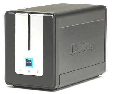DLINK-323 - 2 lemezes NAS hálózati tároló