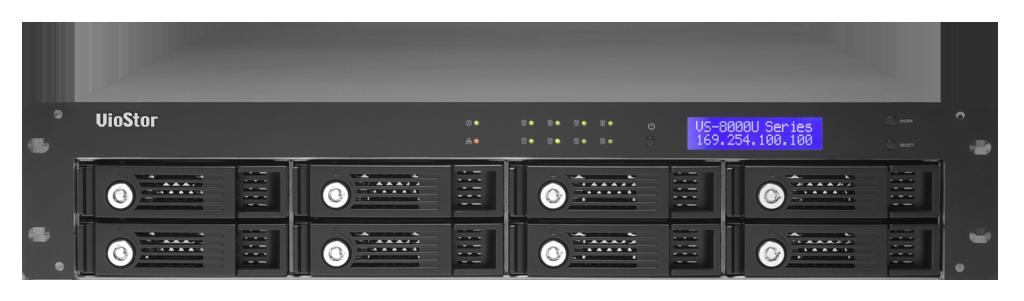 QNAP VS-8024U-RP - 8-bay 24ch IP NVR